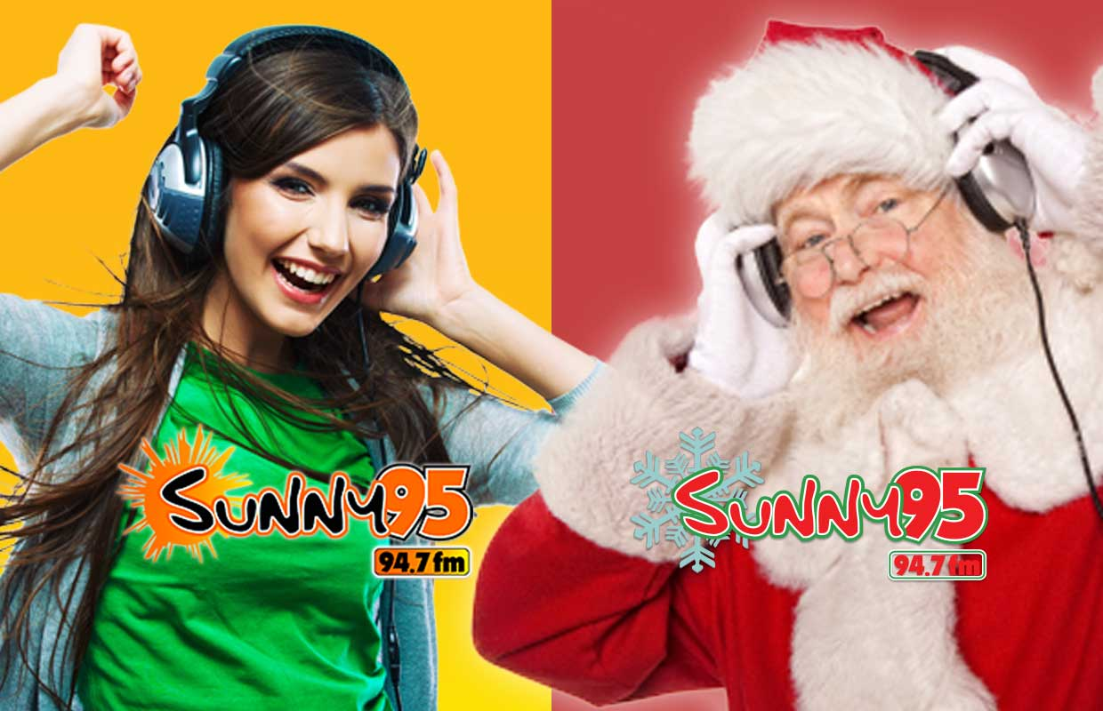 Streaming Christmas Music.Choose Your Stream Sunny 95