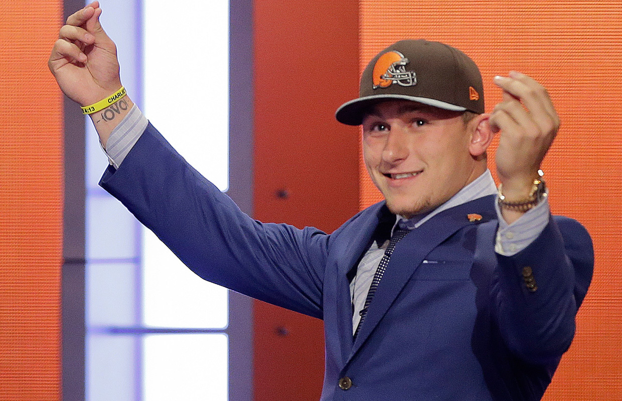 "Brown allow wider look at ""Johnny Football"""