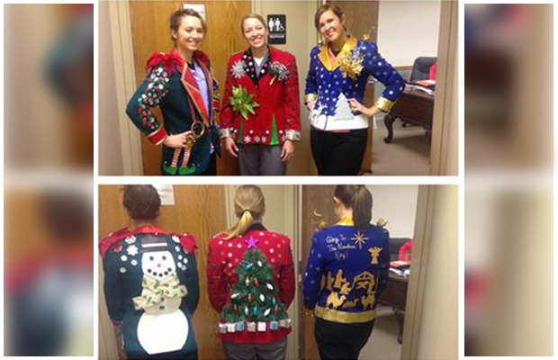 Congratulations To Our Ugly Christmas Sweater Winner