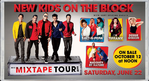 New Kids on the Block with Debbie Gibson, Tiffany, Salt & Pepa and